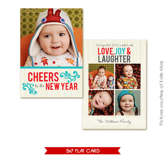 Holiday Photocard | New Cheers e248