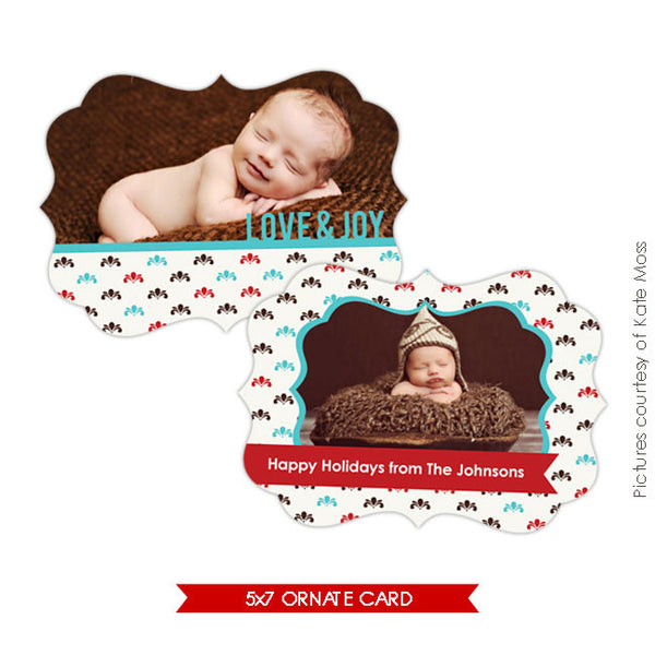Holiday Ornate Photocard | Night joy e176