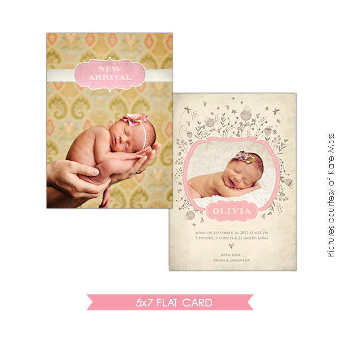 Birth Announcement | Olivia e273