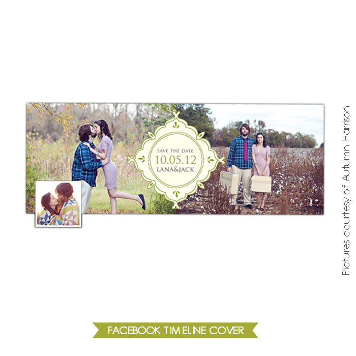 Facebook timeline cover | Romantic forest e384