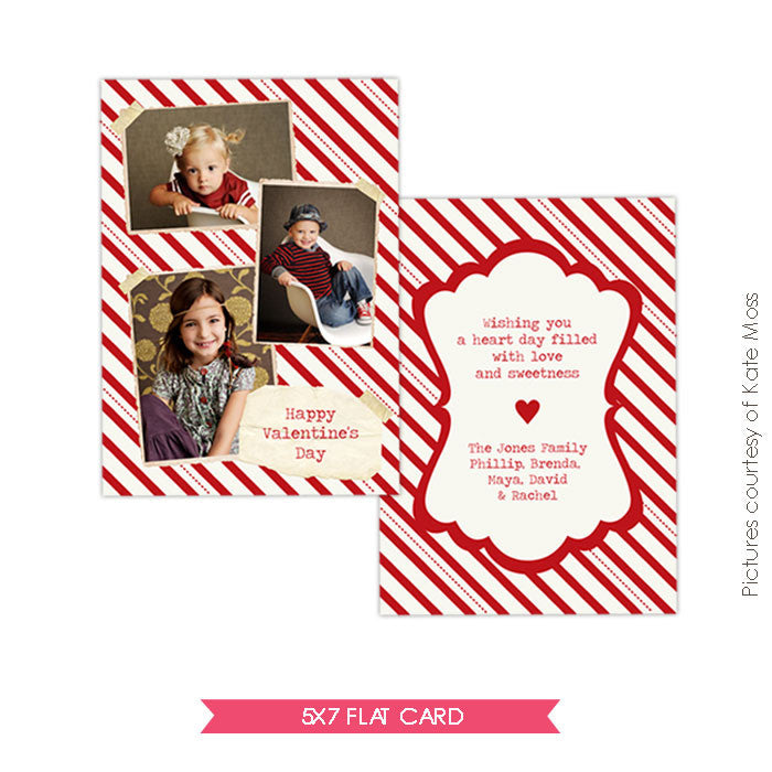 Valentine Photocard Template | Sharing love e282