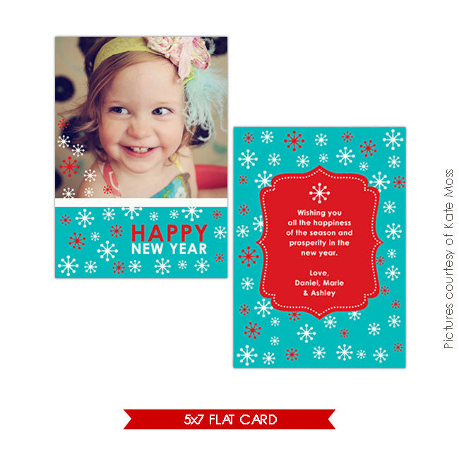 Holiday Photocard | Smiles e202