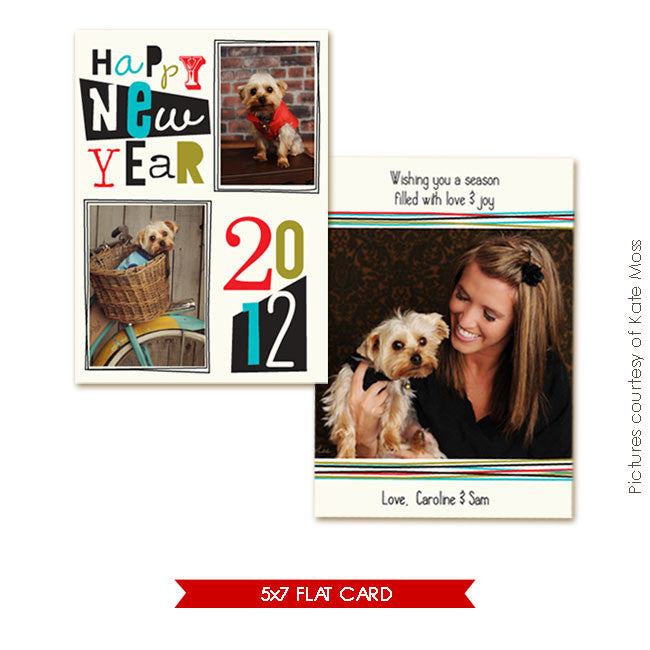 Holiday Photocard | Surprises & Love e247