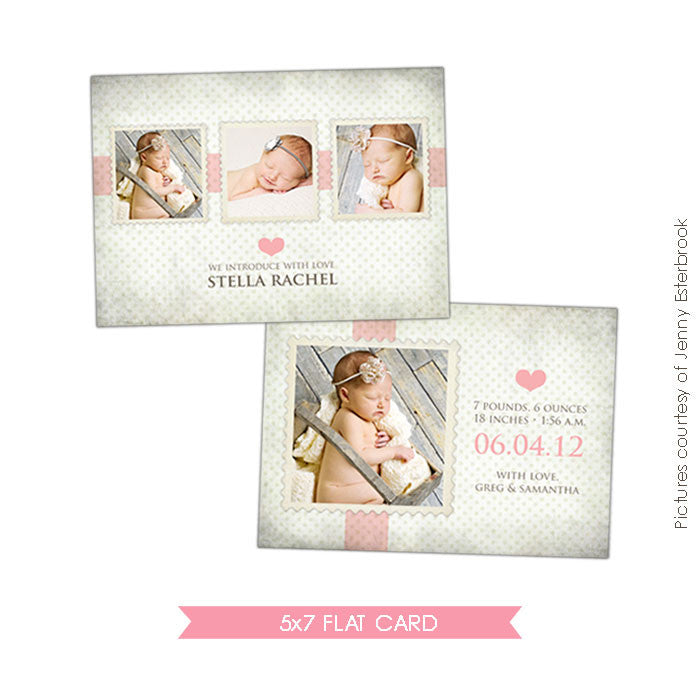 Birth Announcement | Sweet Stella e354