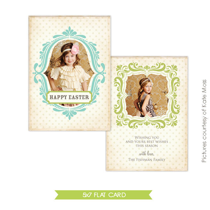 Easter photo card | Sweet cheer e342