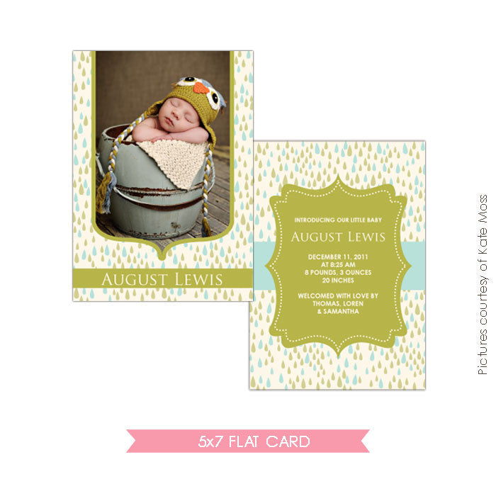 Birth Announcement | Sweet Rain e146