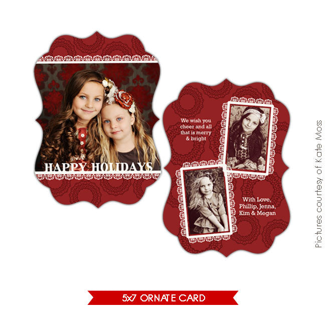 Holiday Ornate Photocard | Sweet times e177