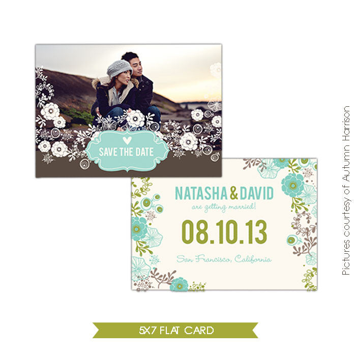 Together | Save the date card e303