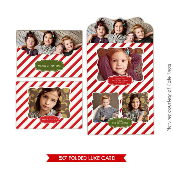 Holiday Ornate Photocard | Vintage Classic e236