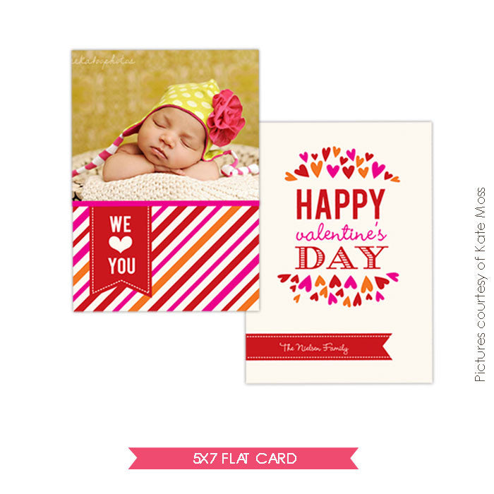 Valentine Photocard Template | We love e266