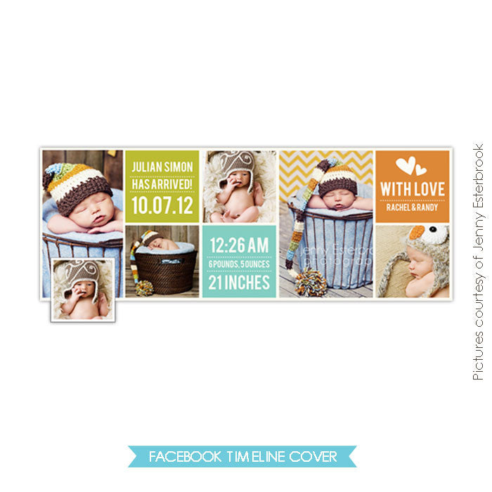 Facebook timeline cover | Welcome board e371