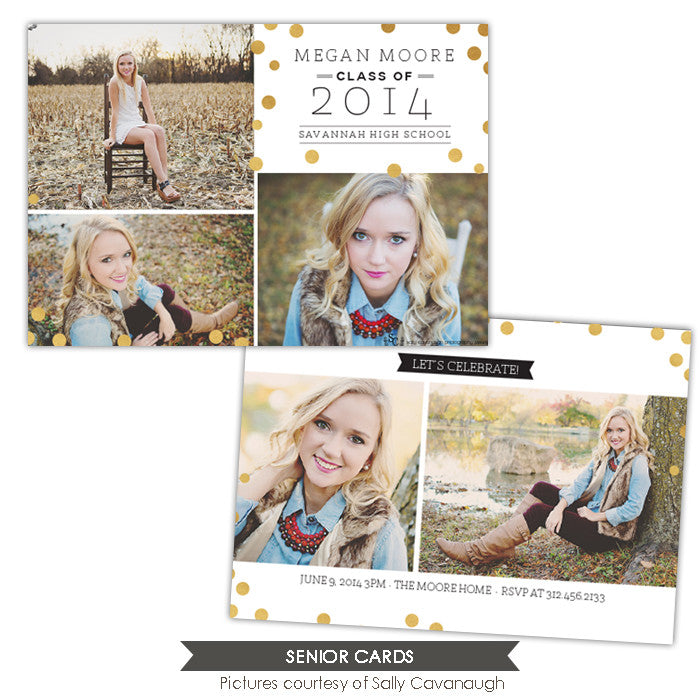Grad announcement | Golden dots - e1023