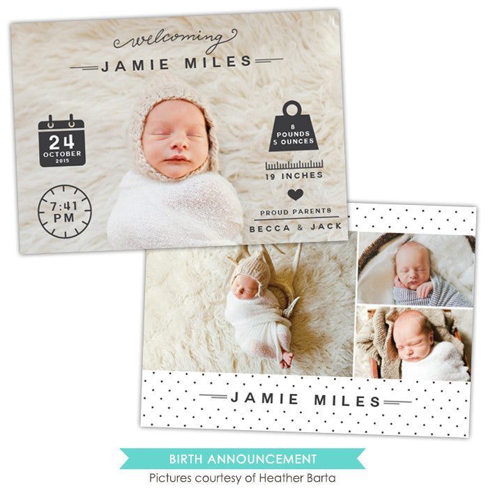 Birth Announcement | Welcoming Jamie e1058
