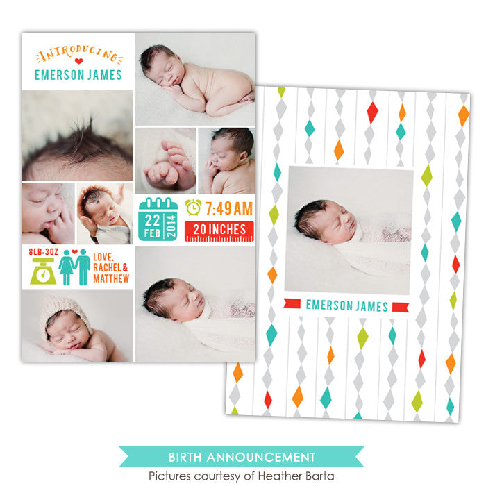 Birth Announcement | Infographic arrive e1059