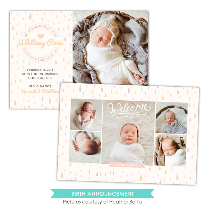 Birth Announcement | The sweetest dream e1062