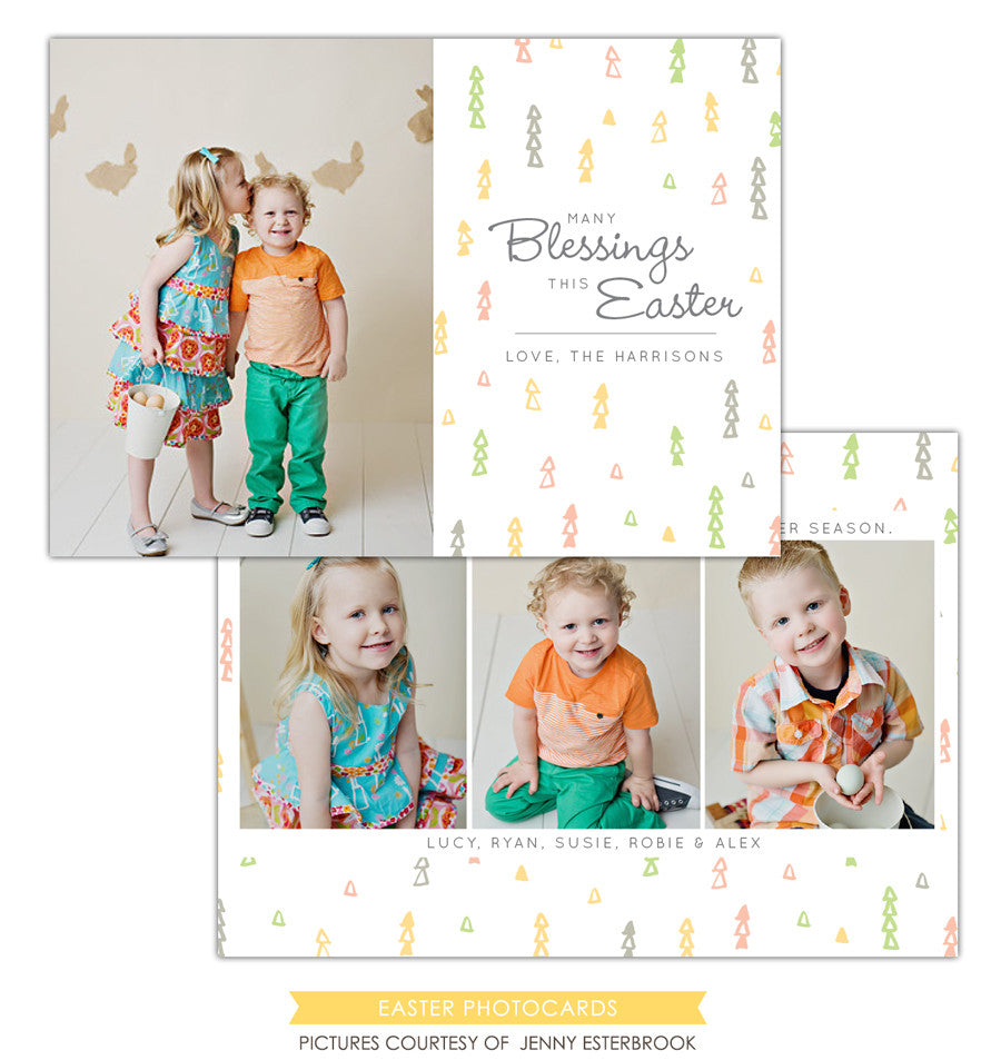 Easter photo card | Easter Confetti e1204