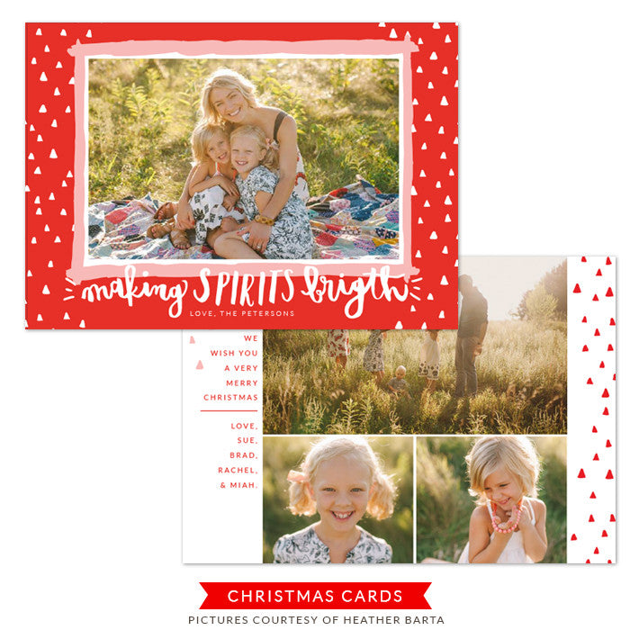 Christmas Card | Bright Spirit e1231
