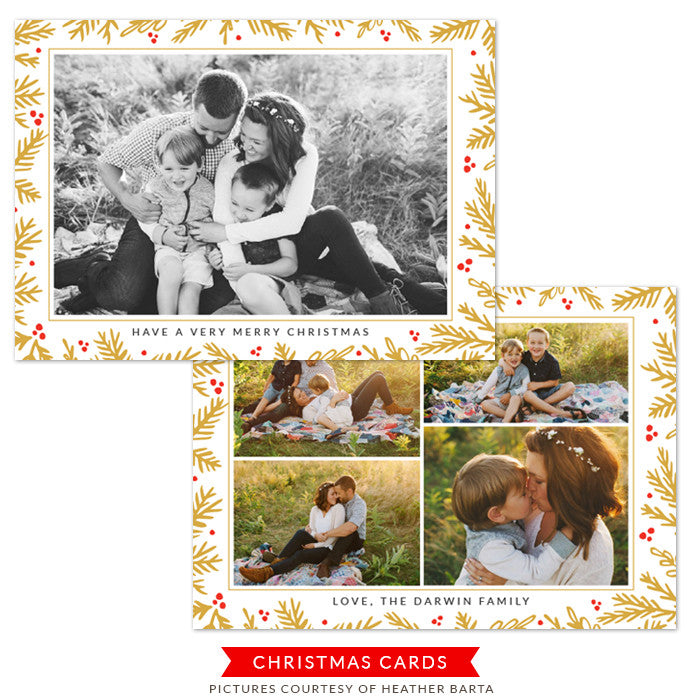 Christmas Card | A Loving Heart e1237