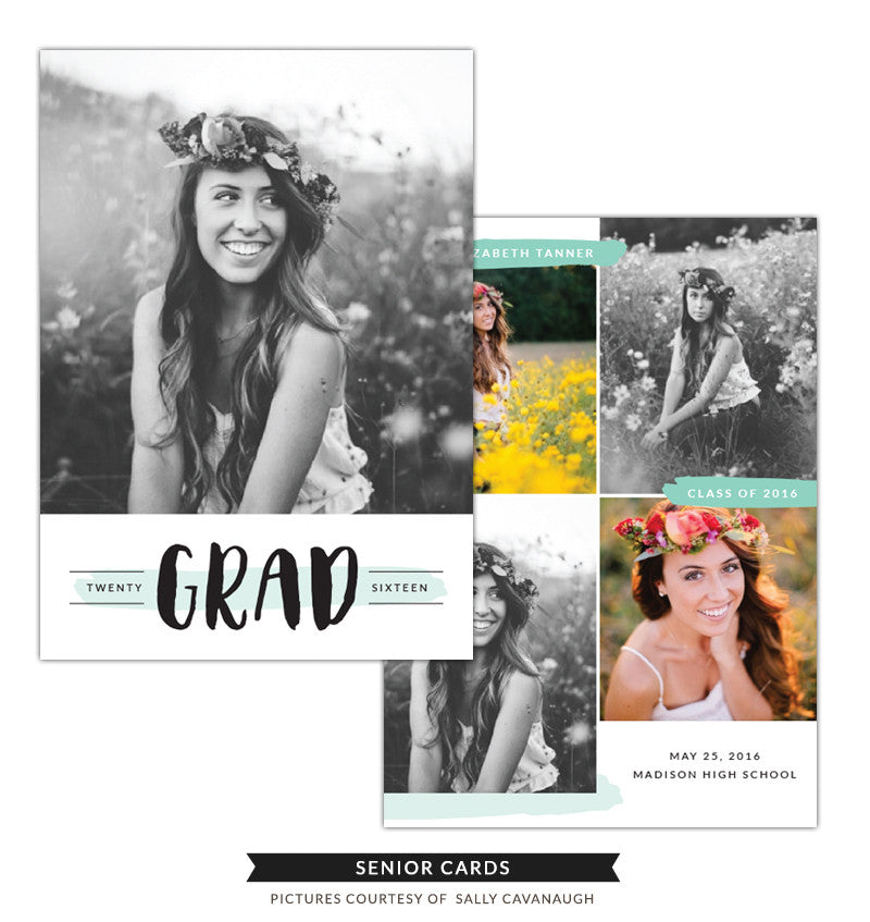 Grad announcement | Senior Glow e1279