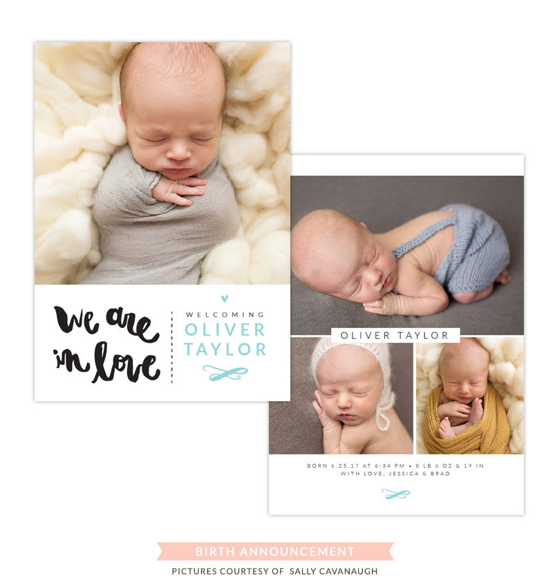 Birth Announcement | We are in love e1293