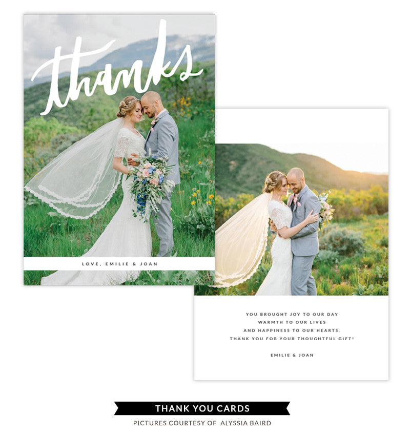 Thank You card | Floral Feelings e1340