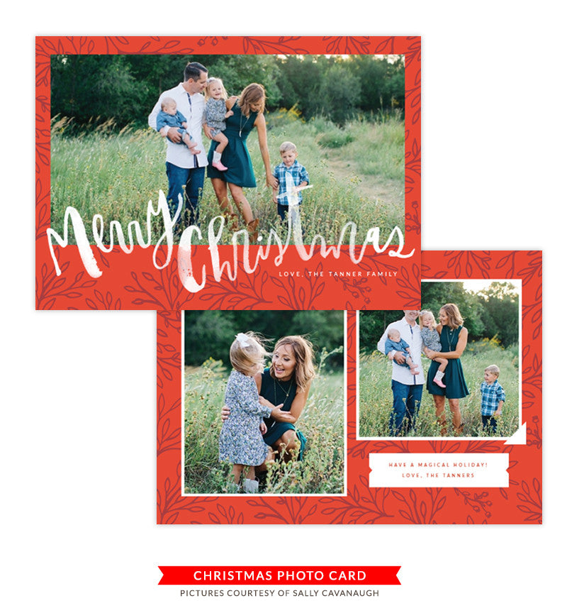 Christmas Card | Christmas Foliage e1352