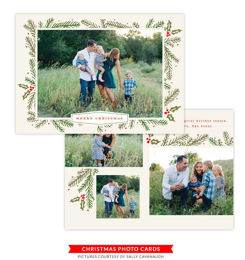 Christmas Card | Holiday Blessings e1369