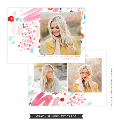 Grad announcement | Cheers of Color e1483