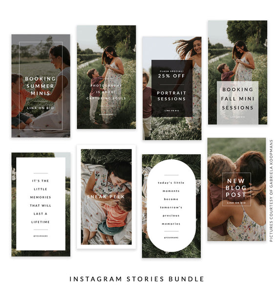 Instagram Stories Bundle | Early Sunshine e1502