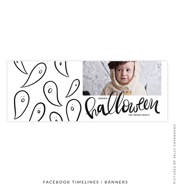 Halloween Facebook timeline cover | Ghost Party e1546