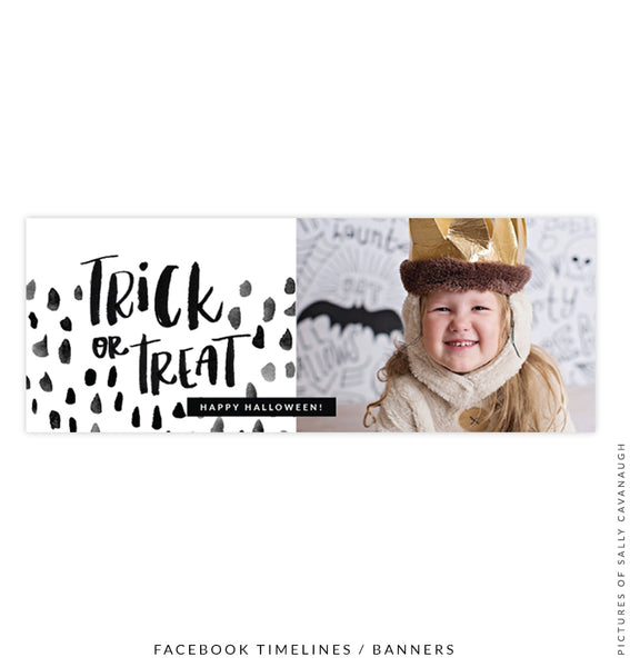 Halloween Facebook timeline cover | Trick or Treat e1548