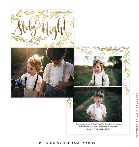Christmas 5x7 Photo Card | Faith and Grace e1551