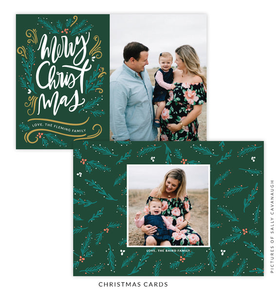 Christmas 5x7 Photo Card | Christmas Breeze e1592