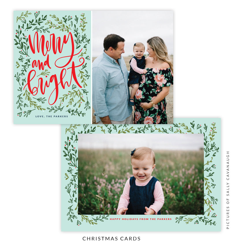 Christmas 5x7 Photo Card | Sweet Carol e1597