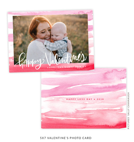 5x7 Valentine's Photo Card | Unconditional Love e1618