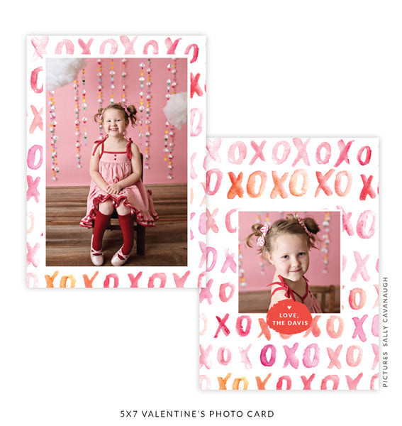 Copy of 5x7 Valentine's Photo Card | New Love e1621