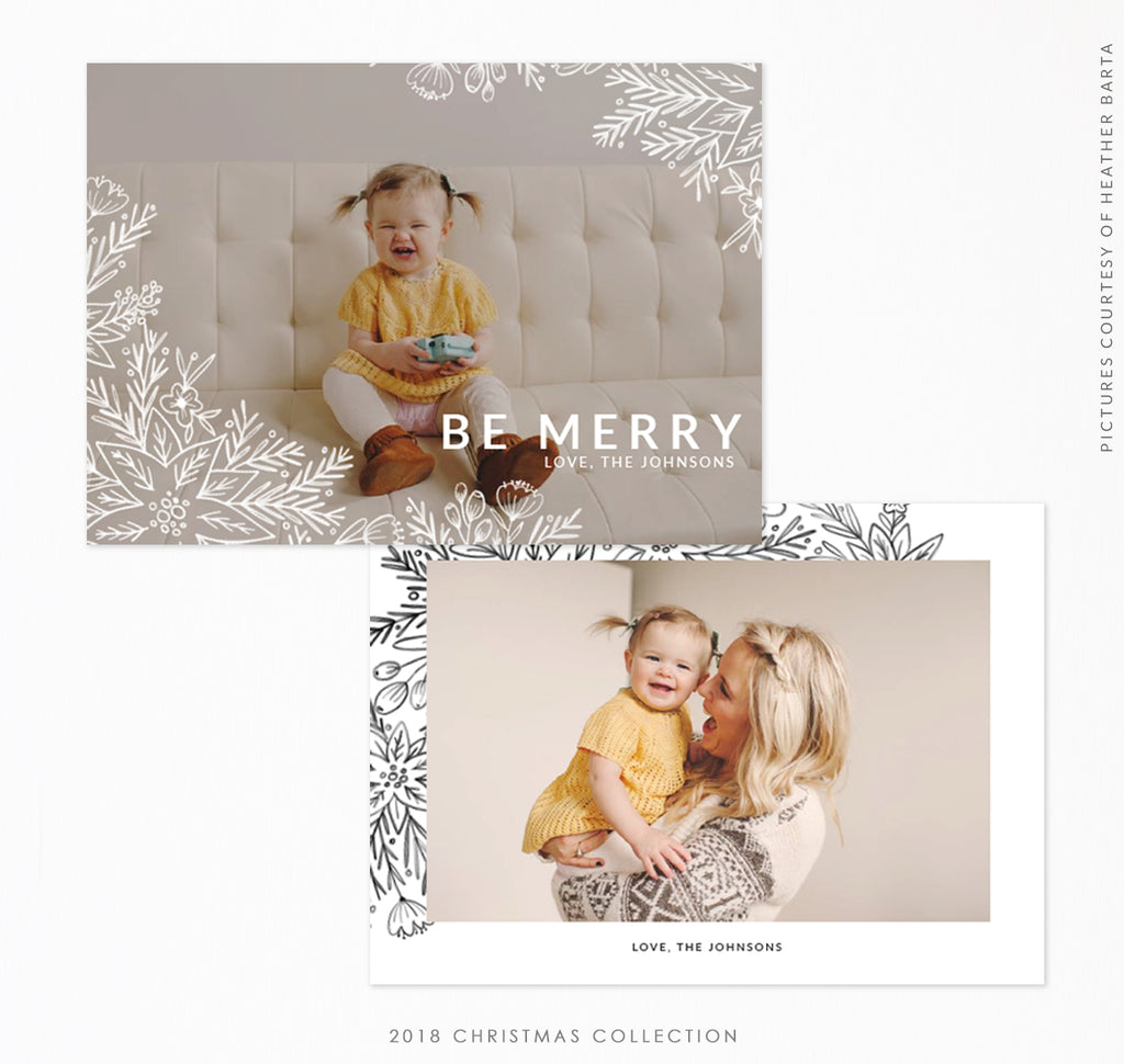 2018 Christmas 5x7 Photo Card | Christmas Giggles