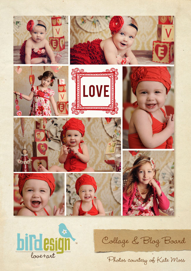 16x20 collage & blog board | Love e261