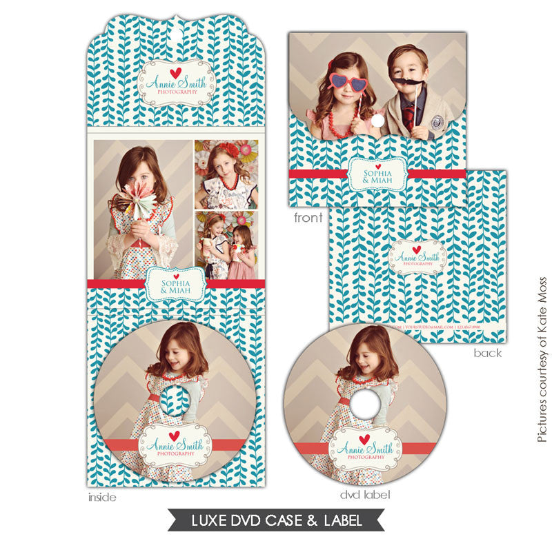 Luxe DVD case and DVD label | Everything love e620
