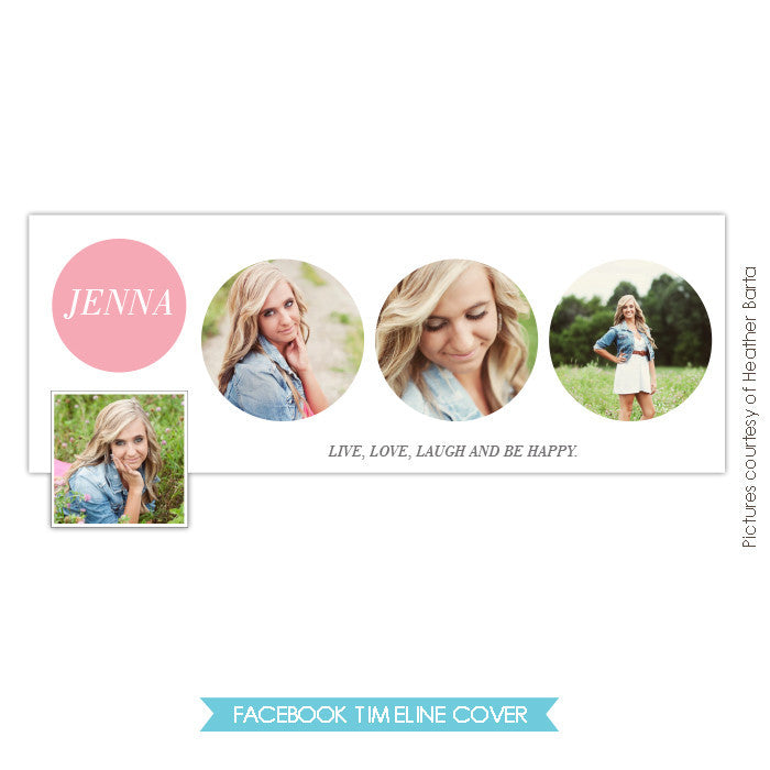 Facebook timeline cover | Jenna Love e723