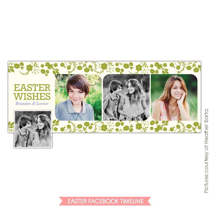 Facebook timeline cover | Spring wishes e738