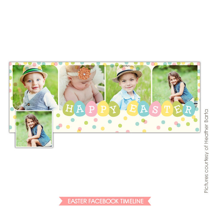 Facebook timeline cover | Spring party e740