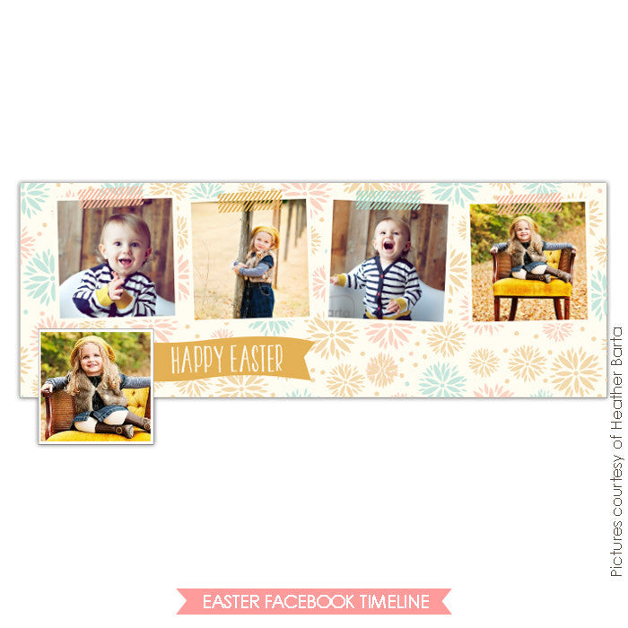 Facebook timeline cover | Blooming timeline e742