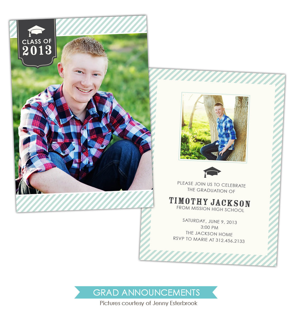 Grad announcement | Be Great e791