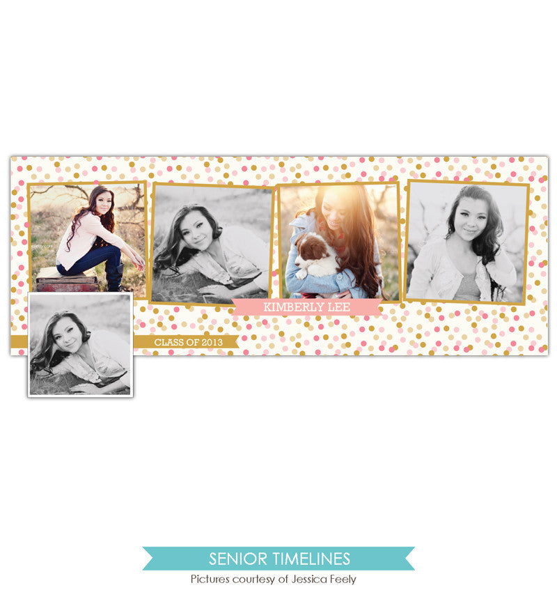 Facebook timeline cover | Happy Confetti e799
