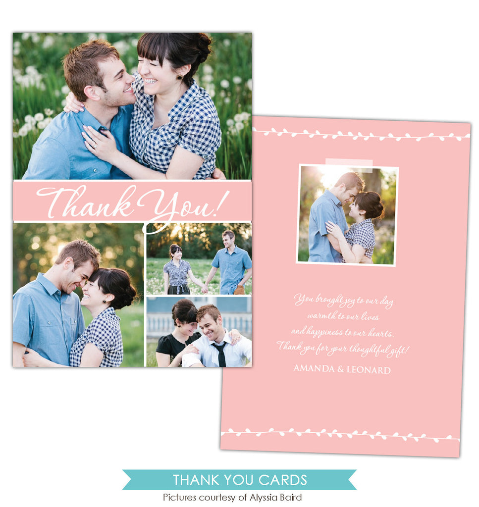 Wedding Thank You Card | Sweet perfection e848