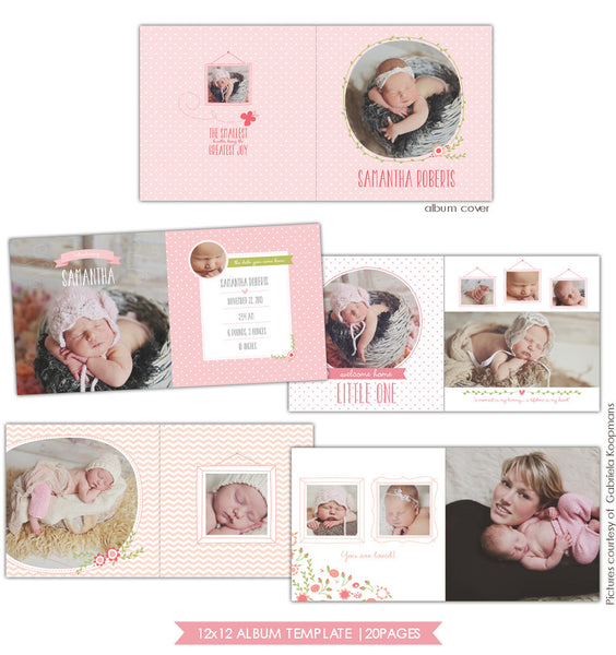 Bundle of love | 12x12 Album template eB628