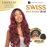 SENSATIONNEL EMPRESS GOLD 4X4 SILK BASED SWISS LACE FRONT WIG MARYAM