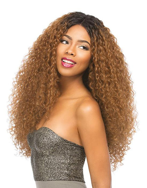 SENSATIONNEL EMPRESS 4X4 SWISS LACE WIG - KELLY