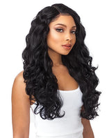 SENSATIONNEL EMPRESS 6 INCH PART CUSTOM LACE FRONT WIG - BODY WAVE